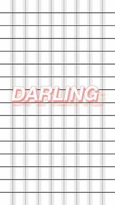 darling walpaper tumblr