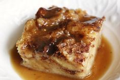Classic Bread Pudding with Bourbon Sauce ~ It's warm and rich and soaked in bourbon! Makin this for our Thanksgiving & Christmas dinner!