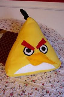 angry bird pillow