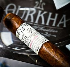 alifewellsuited: Gurkha Cellar Reserve aged 15 years. Probably one of the best Gurkha cigars I've smoked.