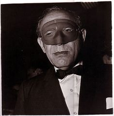 Diane Arbus  Masked man at a ball, N.Y.C.  1967    © The Estate of Diane Arbus