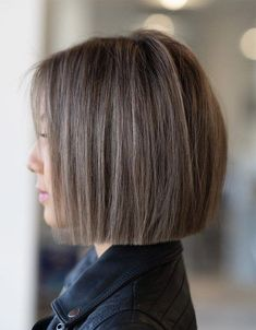 Fresh Style of One Length Bob Haircuts for 2020 Bob Haircut Bob Fresh Haircuts Length style Bob Hairstyles For Thick, Haircut For Thick Hair, Short Bob Haircuts, Hairstyles Haircuts, Modern Hairstyles, Straight Bob Haircut, Natural Hairstyles, Haircut Bob, Bob Haircuts For Women