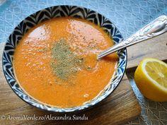 Supă de linte roșie Supe, Cantaloupe, Food, Essen, Meals, Yemek, Eten