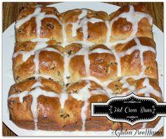 Hot Cross Buns ~ Gluten Free  Gluten Free Mama ~ Gluten & Allergy Free Food Network