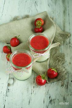 Endlich ist es nun so weit. Ich präsentiere euch endlich ein Rezept mit Erdbeeren.