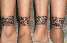 ankle band  tattoos | permalink http www tattootribes com index php idmmedia 2050