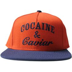 Crooks & Castles Cocaine and Caviar Snapback Hat True Red / Dark Navy Our price: £30.00
