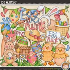 Egg Hunting By Kate Hadfield