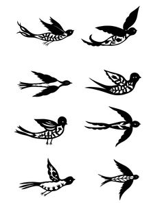 21 Best Simple Parrot Outline Tattoo Stencil images ...