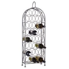 $60.00  The Bordeaux Chateau Wine Rack, 23 bottle is a beautiful and unique way to both store and display your wine collection. View product details for complete description.