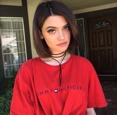 Short Bob Synthetic Lace Front Wigs for Women L Part Black Color Light Yaki Straight Heat Resistant Synthetic Hair Replacement Wigs Hair Inspo, Hair Inspiration, Kelsey Calemine, Shoulder Length Hair, Pretty Face, Cute Hairstyles, Pretty People, Hair Goals, New Hair