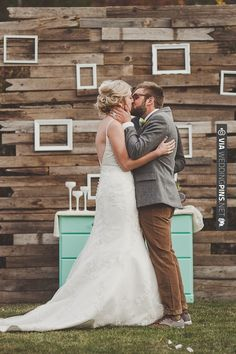 cute backdrop idea | CHECK OUT MORE IDEAS AT WEDDINGPINS.NET | #weddings