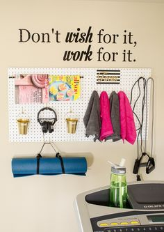 Keep your New Year's Resolutions going strong with the help of these small-space home gym hacks.