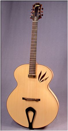 Solomon Imperial archtop guitar.