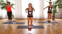The Ultimate Butt Workout: Tighten and tone your backside with this 10-minute workout from Anna Kaiser of AKT in Motion - you will feel the burn as you build strength.