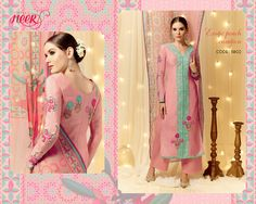 Pink Color Designer Straight Suit - Rs. 2690.00
