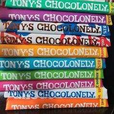 De Tony's Chocolonely Top 10 bij Curly Coffee! Alleen maar de lekkerste repen! #totzo #lekker #genieten #limitededition #exclusive #online #zwolle #koffiewinkel