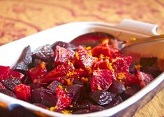 Roasted Beets with Blood Oranges (would even sound delicious adding some nuts to it. :)