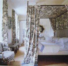 Manuel Canovas Fabric, Ginny Magher Design