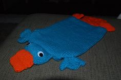 Perry The Platypus, Water Bottle Covers, Pattern Library, Ravelry, Dinosaur Stuffed Animal, Craft Ideas, Crafty, Patterns, Sewing