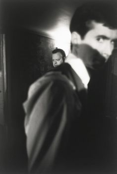 Orson Welles and Anthony Perkins on the set ofThe Trial (1963) by Nicolas Tikhomiroff.
