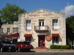 """Der Kuchen Laden -  """"for the little chef in all of us""""  When in Fredericksburg, be sure to stop in at The Historic Keidel Hospital Building, the home of Der Kuchen Laden, the best little Kitchen Store in Texas.  Note: there are 17 rooms to stroll through, save time.   #Chefy #foodieheaven"""