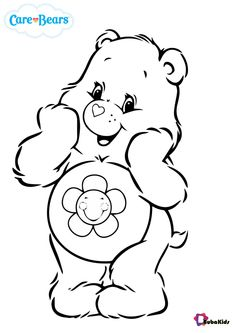 Care Bears Harmony bear coloring pages - BubaKids.com
