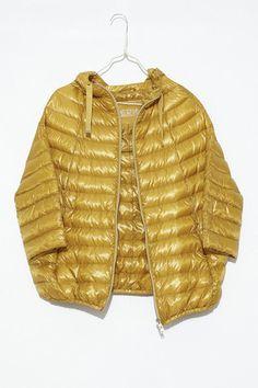 Mustard Puffer Jacket by Herno | shopheist.com