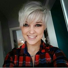 Pretty blonde Pixie with bangs. thanks! ✂ Check out my bio on how to be featured ! Source:Pinterest #pixie #pixiecut #pixies #shorthair #shorthairdontcare #crop #shave #shaved #undercut #style #hair #haircut #hairstyle #beauty #model #cut #hairdo #badass #beautiful #pixiecuts #photos #share #instalike #cute #tag #beautywithapixie #fashion