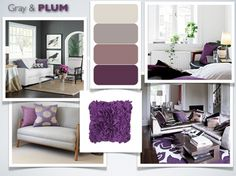Grey and Plum