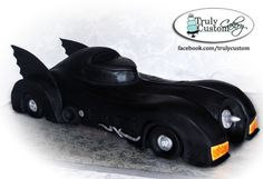Batmobile Cake....if I don't have this for my birthday, I will be devastated.