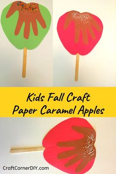 Fall Crafts For Toddlers, Easy Toddler Crafts, Halloween Crafts For Kids, Paper Crafts For Kids, Fall Arts And Crafts, Easy Fall Crafts, Daycare Crafts, Preschool Crafts, Carnival Crafts