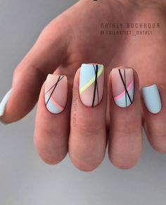 20 current trends of very beautiful nail design 2019 very be.- 20 current trends of very beautiful nail design 2019 very beautiful nail design Manicure Nail Designs, Acrylic Nail Designs, Nail Art Designs, Nails Design, Design Design, Manicure Ideas, Prom Nails, Fun Nails, Nails 2018