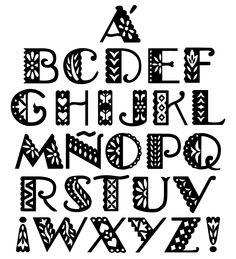 Alphabet Picado