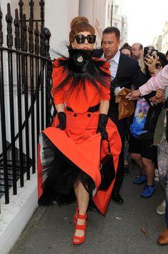 Lady Gaga Sighted In London