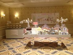 Inspiration for Pop up Ice Cream Bar! Photo Credit: Four Seasons Hotel Boston