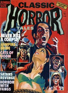Cover for Horror Tales (Eerie Publications, 1969 series) #v7#2