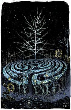 The Labyrinth on Behance