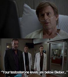 LOL, man, I do love Dr. House!