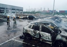 Aftermath of Tianjin Explosion - Wow Gallery