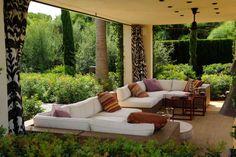 Casa-Sotogrande Outside Living, Outdoor Living, Garden Furniture, Outdoor Furniture, Outdoor Decor, Isabel Lopez, Porch Veranda, Inside Outside, Porches