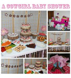 baby shower cowgirl themes for girls | Western Cowgirl Baby Shower | A to Zebra Celebrations
