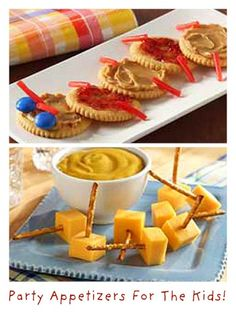 2 Kid-Friendly Party Appetizers!