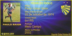 ARQUIVO LOBÃO: GALERIA DE CRAQUES - Paulo Baier