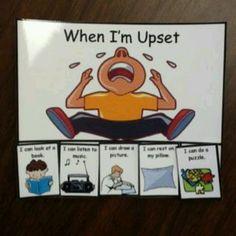 When I'm upset