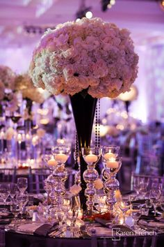 Classic-Meets-Contemporary Wedding Reception Ideas