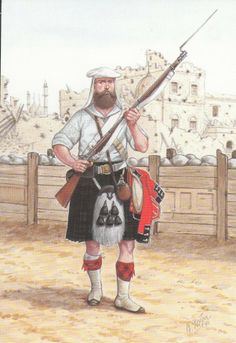 PRIVATE 42ND ROYAL HIGHLAND REGIMENT 1858