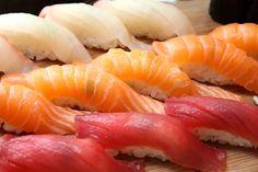 Yellowtail Belly Sushi Tuna, Bonito an...