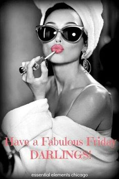 ☆Black & White Pop Of Color☆  *Have a Fabulous Friday Darlings!!*