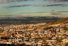 City of Cape Town - a bird's eye view by Nauta Piscatorque